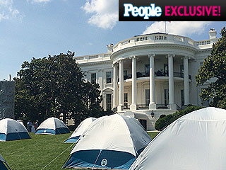 Only PEOPLE Was There: Diary of a White House Slumber Party
