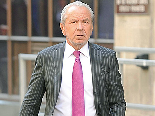 British Apprentice Host Lord Alan Sugar Is Game to Take Over for Donald Trump