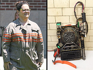 Here's Your First Look at All Four Ghostbusters in Uniform   Ghostbusters, Melissa McCarthy