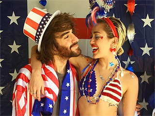 It's a Party in the USA! Miley Cyrus Throws an Epic Fourth of July Bash