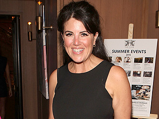 Monica Lewinsky Shows Off Trim Figure in a Crop Top (Again!) at a London Bash