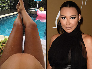 Naya Rivera Posts Photo of Her Favorite Summer Accessory: Her Baby Bump!
