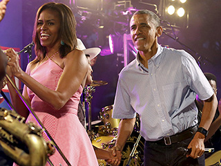 The Obamas Celebrate the Fourth of July with Military Families at the White House: 'Freedom Isn't Free'