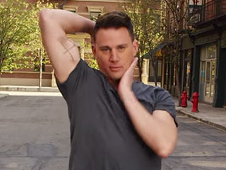 FROM EW: Channing Tatum Channels Madonna, Shows Off 7 Dance Moves in 30 Seconds