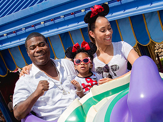 Tracy Morgan Visits Disney World as He Celebrates Daughter's Birthday | Tracy Morgan