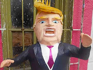 Donald Trump Popular in Mexico – in Piñata Form