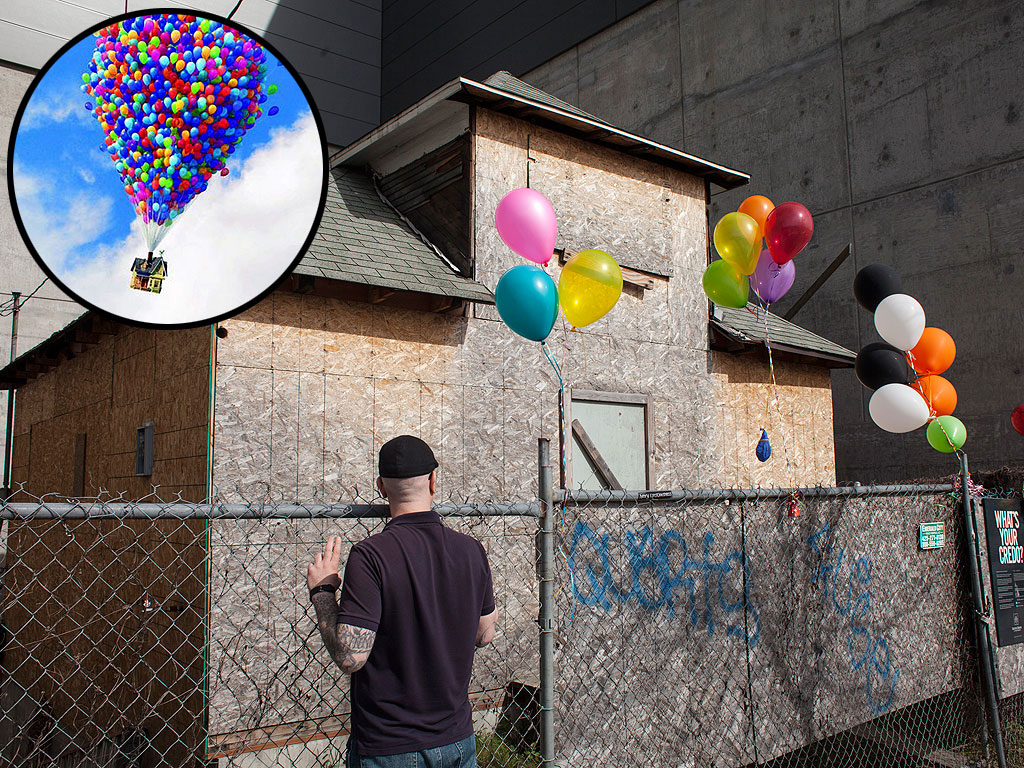 """OPAL Raising Money to Save Edith Macefield's """"Up"""" House from Demolition"""