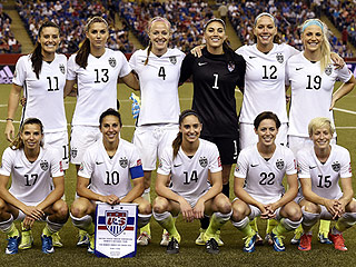 '#LetsGoGirls': Twitter Cheers as USA Advances to the Women's World Cup Finals