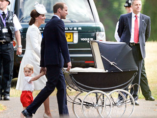 A 50-Year-Old Stroller and 4-Year-Old Cake: Princess Kate and Prince William Look to History for Princess Charlotte's Christening