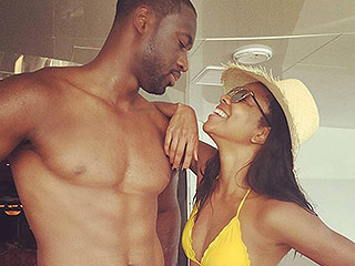 Gabrielle Union and Dwayne Wade Show Off Their Incredible Beach Bodies During Fourth of July Vacation with La La Anthony
