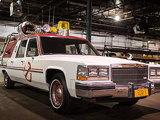 What They Gonna Drive? New Ghostbusters Ecto-1 Station Wagon Revealed!