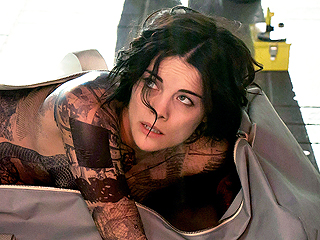 FROM EW: Blindspot's Jaimie Alexander on Baring It All for Times Square Scene