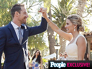 They're Ready for Love: Plain White T's Tim Lopez Weds Jenna Reeves – See the Photos