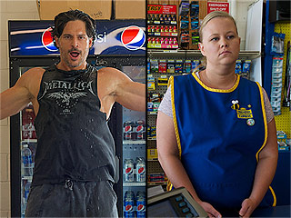 Why So Glum? How Magic Mike XXL's Minimart Girl Kept a Poker Face During Joe Manganiello's Private Striptease