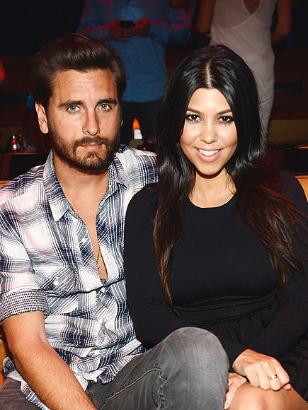 Kourtney Kardashian Ex Scott Disick Acts Like He Doesn't Care: Source