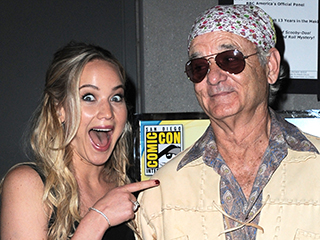 Jennifer Lawrence's Comic-Con Highlights: Bill Murray and Food (Of Course!)