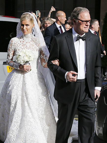 nicky hilton wedding paris hilton kyle richards more