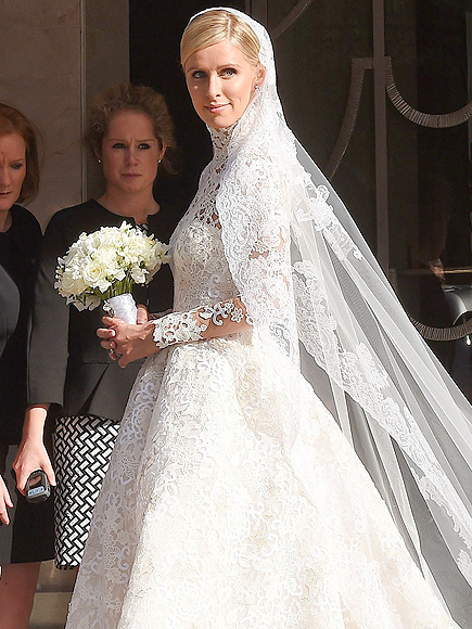 Nicky Hilton Wedding: Heiress Weds James Rothschild in Valentino Couture