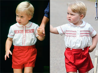 Double the Cuteness! All the Times Prince George and Prince William Matched