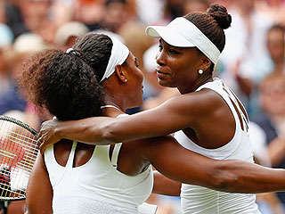 Serena Williams Beats Big Sister Venus at Wimbledon