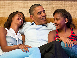 President Obama's Advice to Daughters About Campus Protests: If a 'Knucklehead' Starts Talking About Malia, 'She Will Give as Good as She Gets'