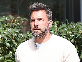 Ben Affleck Spotted in Los Angeles with New Muscle Car