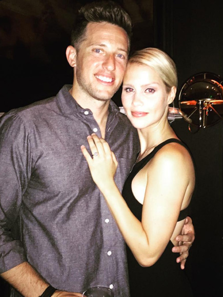 Claire Holt engagement ring