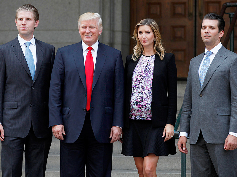 Ivanka and Eric Trump Not Registered to Vote for Dad Donald Trump in New York