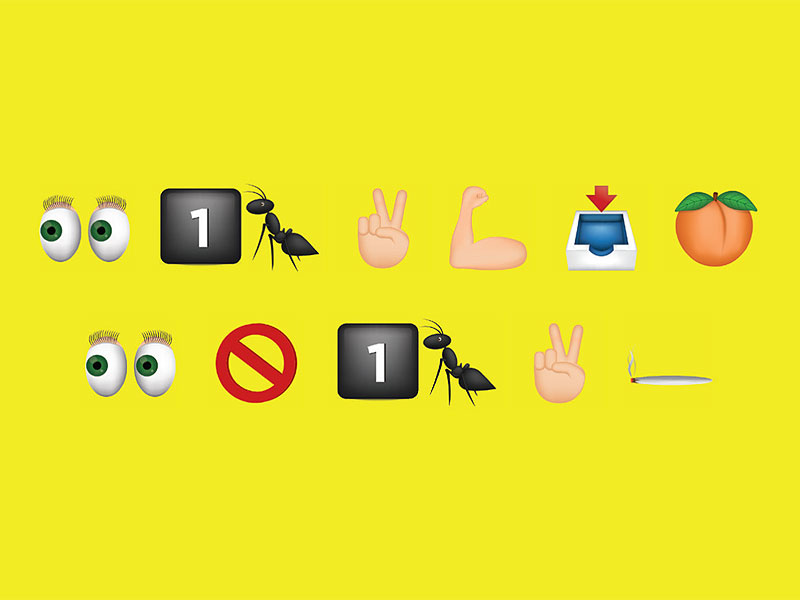New Anti-Drug Campaign Is Written Entirely in Emojis  Health
