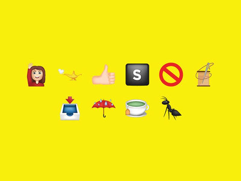 Partnership for Drug-Free Kids Anti-Drug Campaign in Emoji