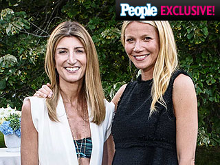 Gwyneth Paltrow Celebrates Goop at Net-A-Porter Hamptons Bash with Ex Chris Martin and Kids