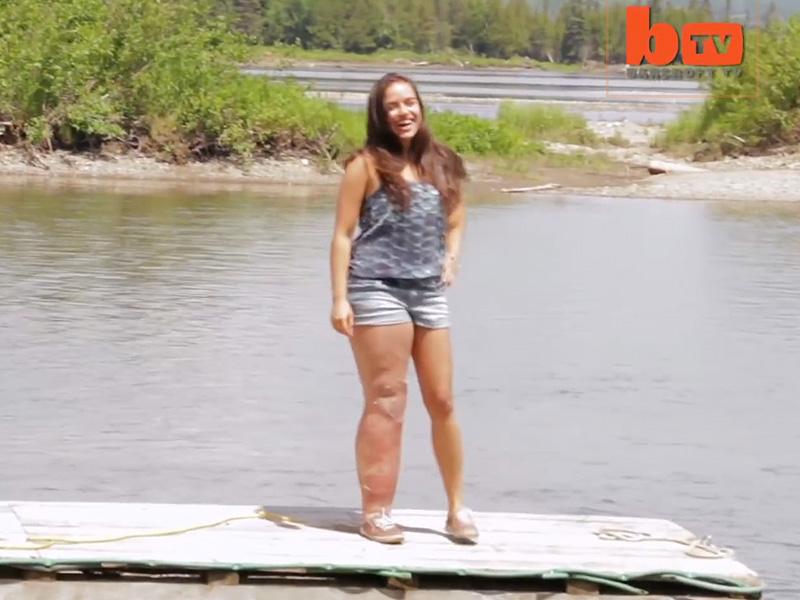 Teen's inspiring bikini pic: Isa-Bella Leclair Parkes-Weber