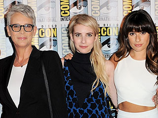 Emma Roberts, Lea Michele Gush About 'Amazing' Scream Queens Costar Jamie Lee Curtis