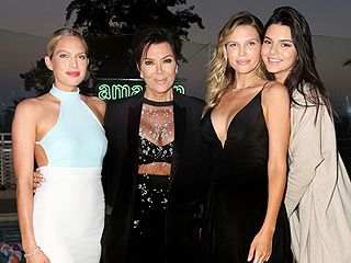 Kris and Kendall Jenner Step Out After Caitlyn's ESPY Speech