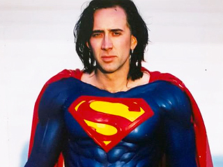When Superman Got Grounded: See Nicolas Cage in Costume for Axed Man of Steel Project