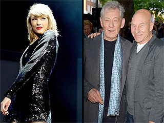 Patrick Stewart and Ian McKellen Politely Ask to Join Taylor Swift's Squad – And She Freaks Out