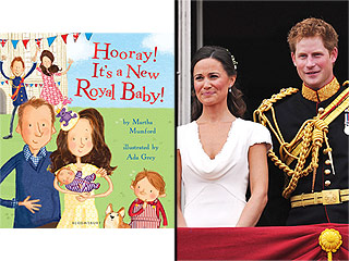 See Pippa Middleton (in Roller Skates!) and Prince Harry as Cute Children's Book Characters in New Series