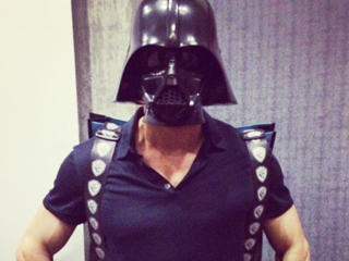 Ryan Reynolds, Dark Lord of the Sith: See His Galactic Darth Vader Do-Over at Comic-Con