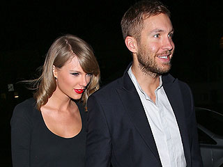 Taylor Swift Rings in 2016 in Las Vegas at Boyfriend Calvin Harris' Show