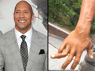 Dwayne 'The Rock' Johnson Pranks Fans With Gruesome Finger Injury: 'I Ain't Got Time to Bleed'