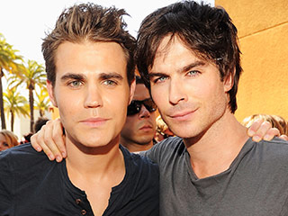 Find Out How to Get a Phone Call from The Vampire Diaries' Ian Somerhalder and Paul Wesley