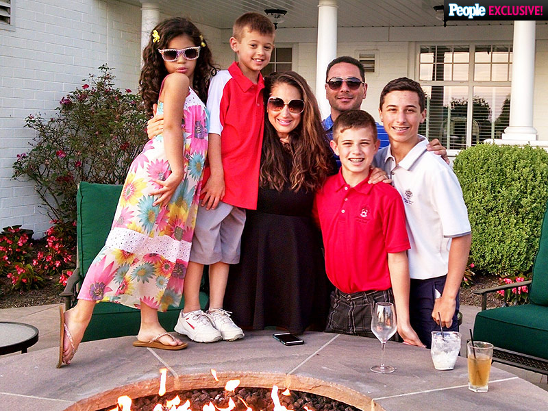 Amber Marchese's Blog: How My Children Bring Me Peace as I Battle Cancer| Celebrity Blog, Cancer, Health, Reality TV, The Real Housewives Of New Jersey, Amber Marchese