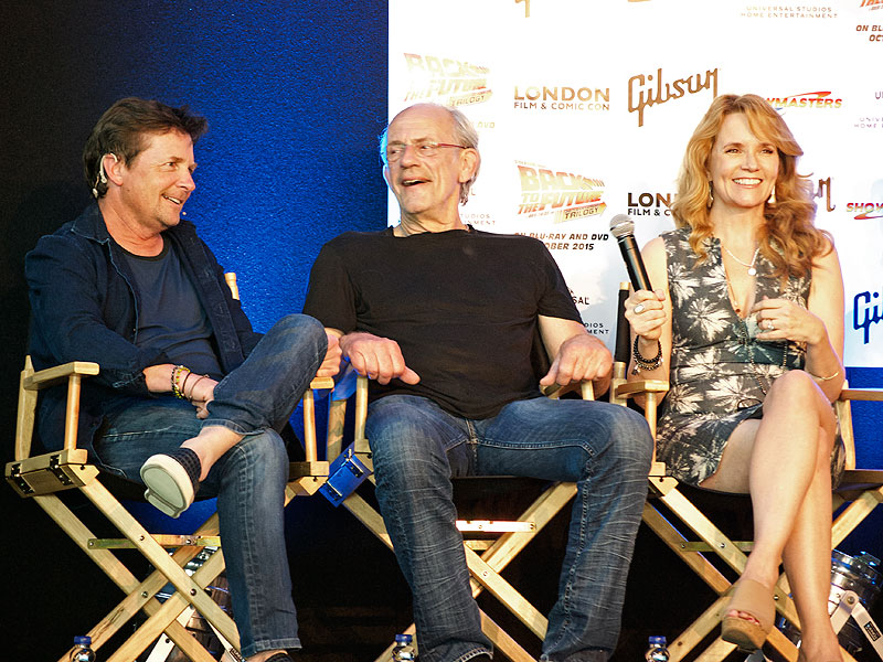 Michael J. Fox Talks Back to the Future at 30th Anniversary Event: It Kept Me From Leaving Acting  Back to the Future, Christopher Lloyd, Lea Thompson, Michael J. Fox