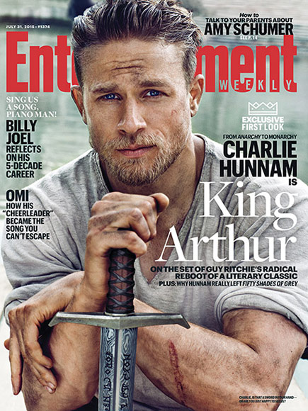 FROM EW: Get a First Look at Charlie Hunnam as a Butt-Kicking Monarch in King Arthur