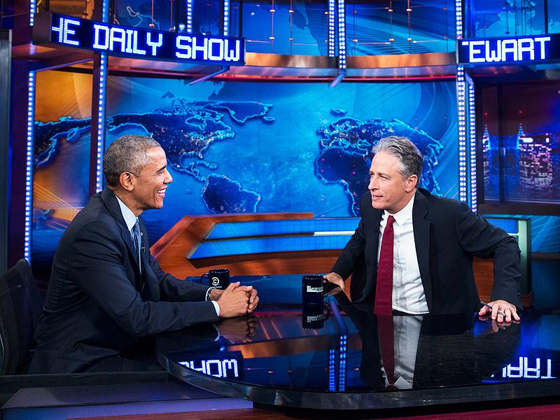 President Obama's Daily Show Interview with Jon Stewart