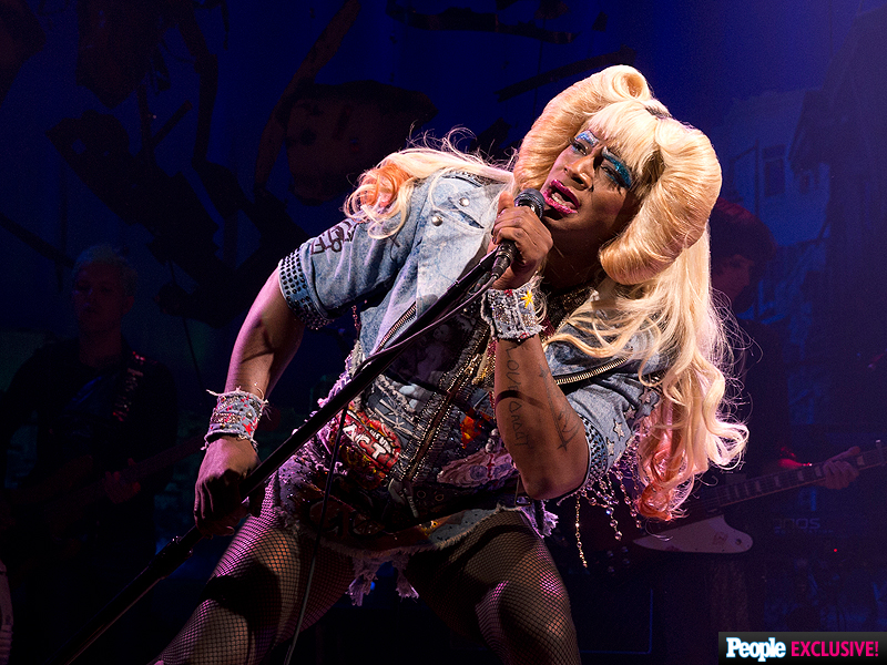 See the First Photos of Taye Diggs Onstage in Hedwig and the Angry Inch on Broadway!  Hedwig and the Angry Inch, Taye Diggs