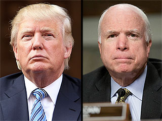 John McCain Speaks Out After Donald Trump Says He's 'Not a War Hero'