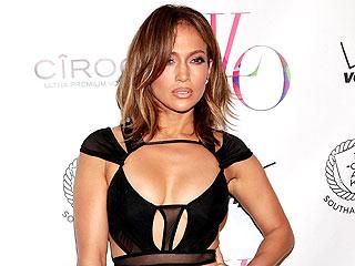 Jennifer Lopez Celebrates Her 46th Birthday with Casper Smart – and a Very Sexy Dress
