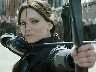 FROM EW: Katniss Prepares for the Final Battle in New The Hunger Games: Mockingjay – Part 2 Teasers