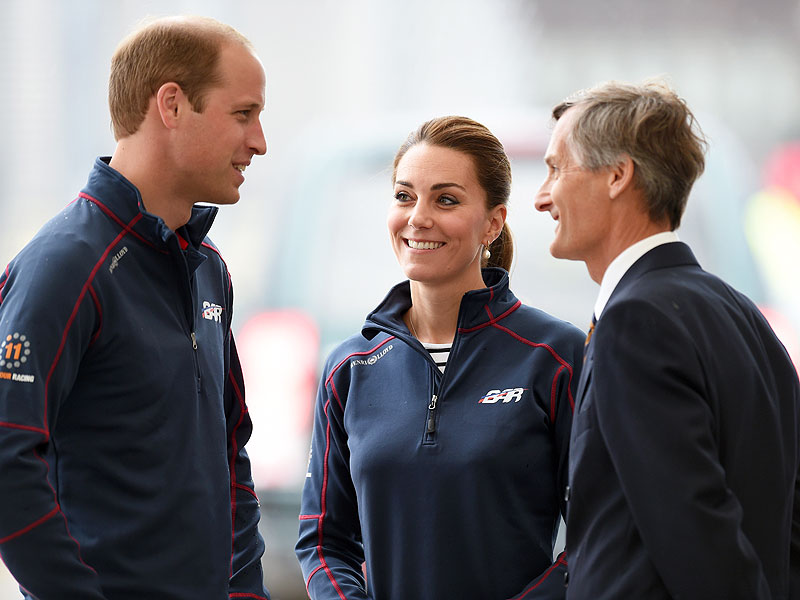 Kate Middleton in Portsmouth: First Outing Since Birth of Charlotte
